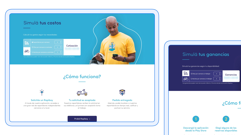 Rapiboy website